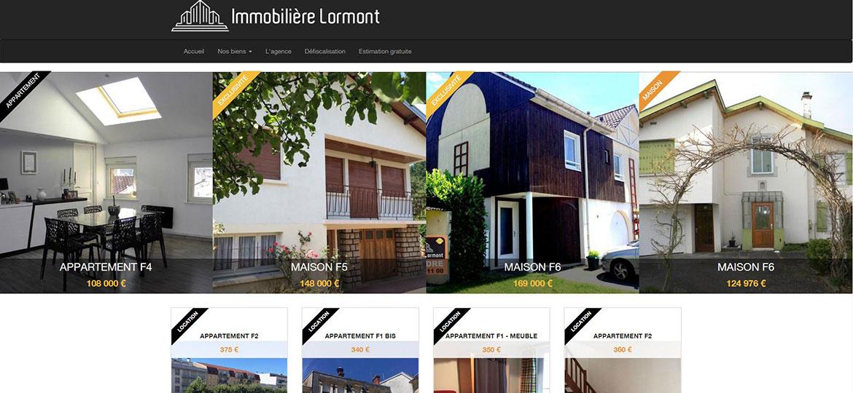 Cr ation site internet boutique en ligne vosges for Agence immobiliere epinal